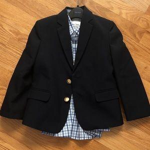 NWOT! Nautica Boy's Blazer and shirt. Size 4